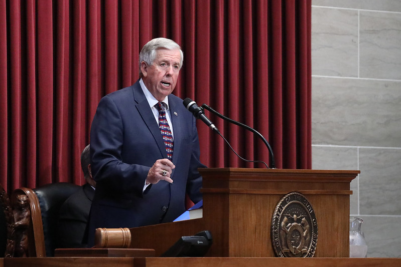 Missouri budget brimming with cash as governor rolls out spending plan