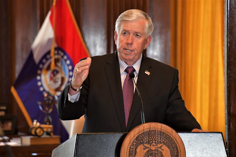 In sudden cabinet shake-up, Parson announces director changes in five Missouri agencies