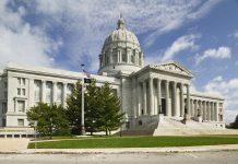 Exterior Missouri State Capitol building