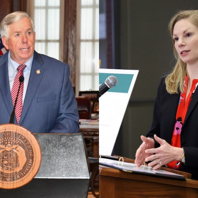 As COVID spreads in Missouri, Parson and Galloway differ starkly on state's response