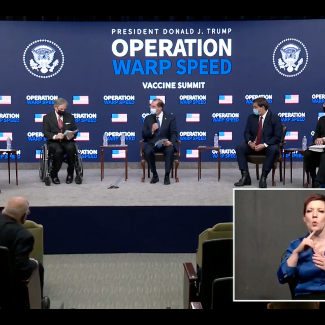 During White House summit, governors describe preparations for COVID-19 vaccine rollout