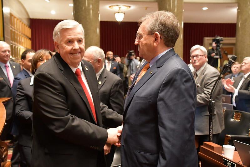 Amid legislative COVID outbreak, Missouri Gov. Parson set to deliver annual address