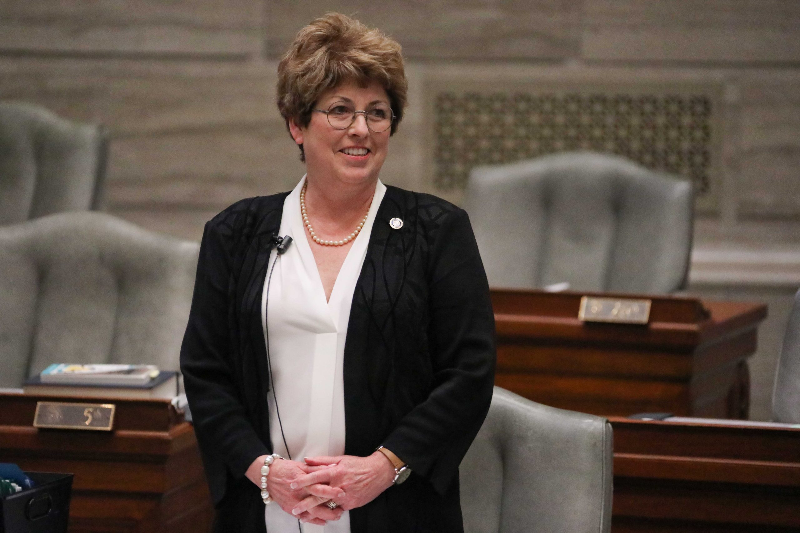 Missouri Sen. Cindy O'Laughlin, R-Shelbina.