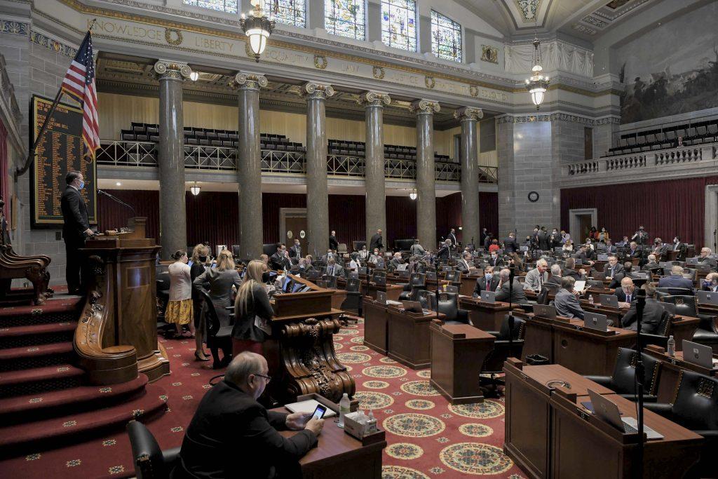 The Missouri House Chamber