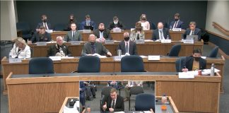 Chris Sevier testifies during a House Committee on General Laws hearing