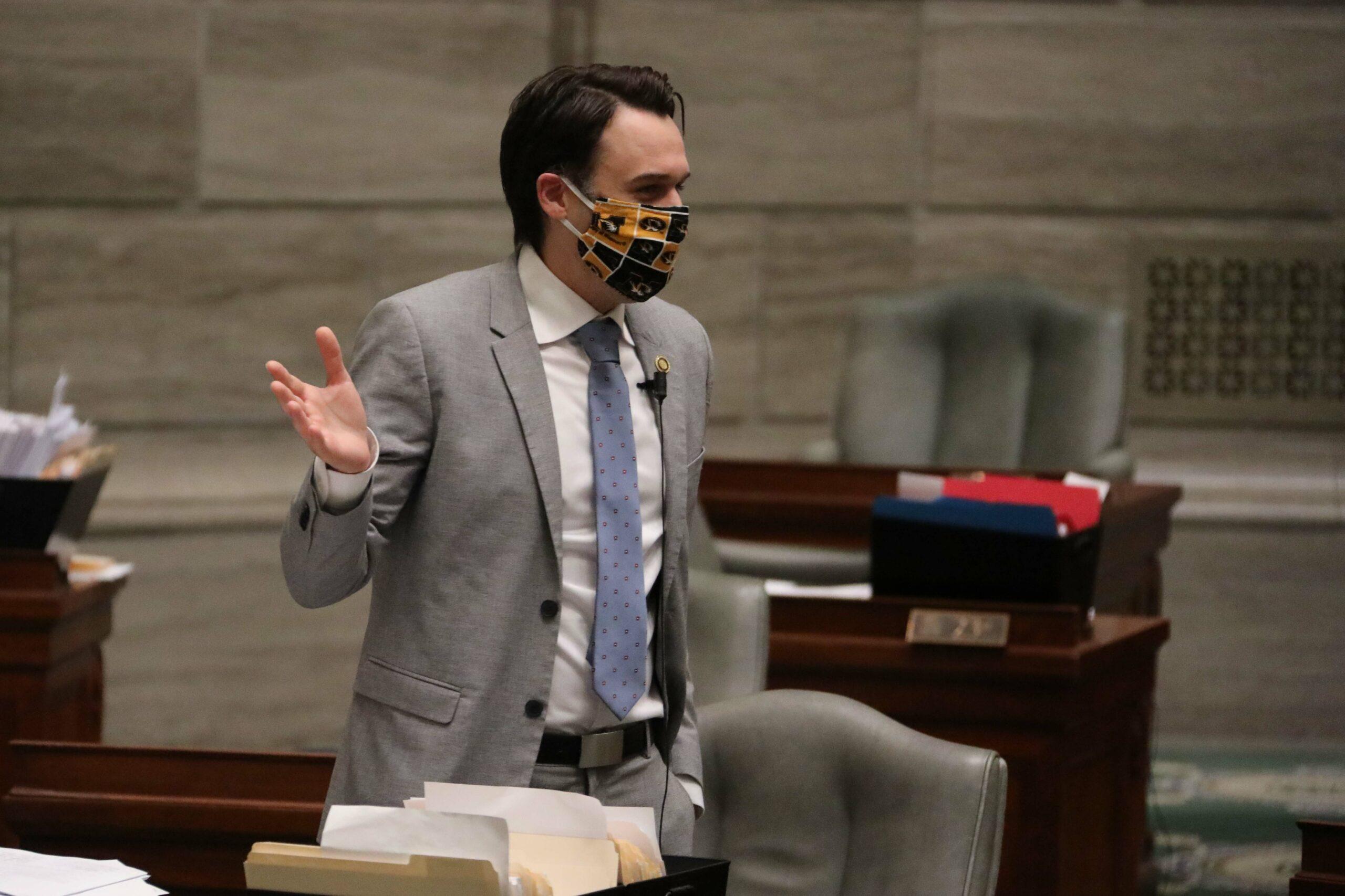 Senate Minority Leader John Rizzo, D-Independence (Photo by Missouri Senate Communications).