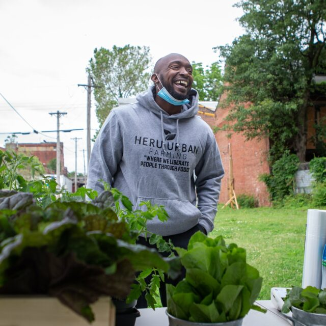 Food insecurity linked to gun violence. Urban farms in St. Louis work on a solution