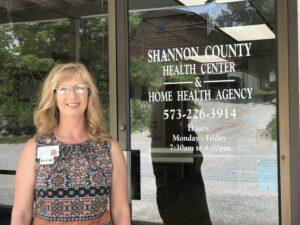 Kandra Counts, Shannon County Health Center