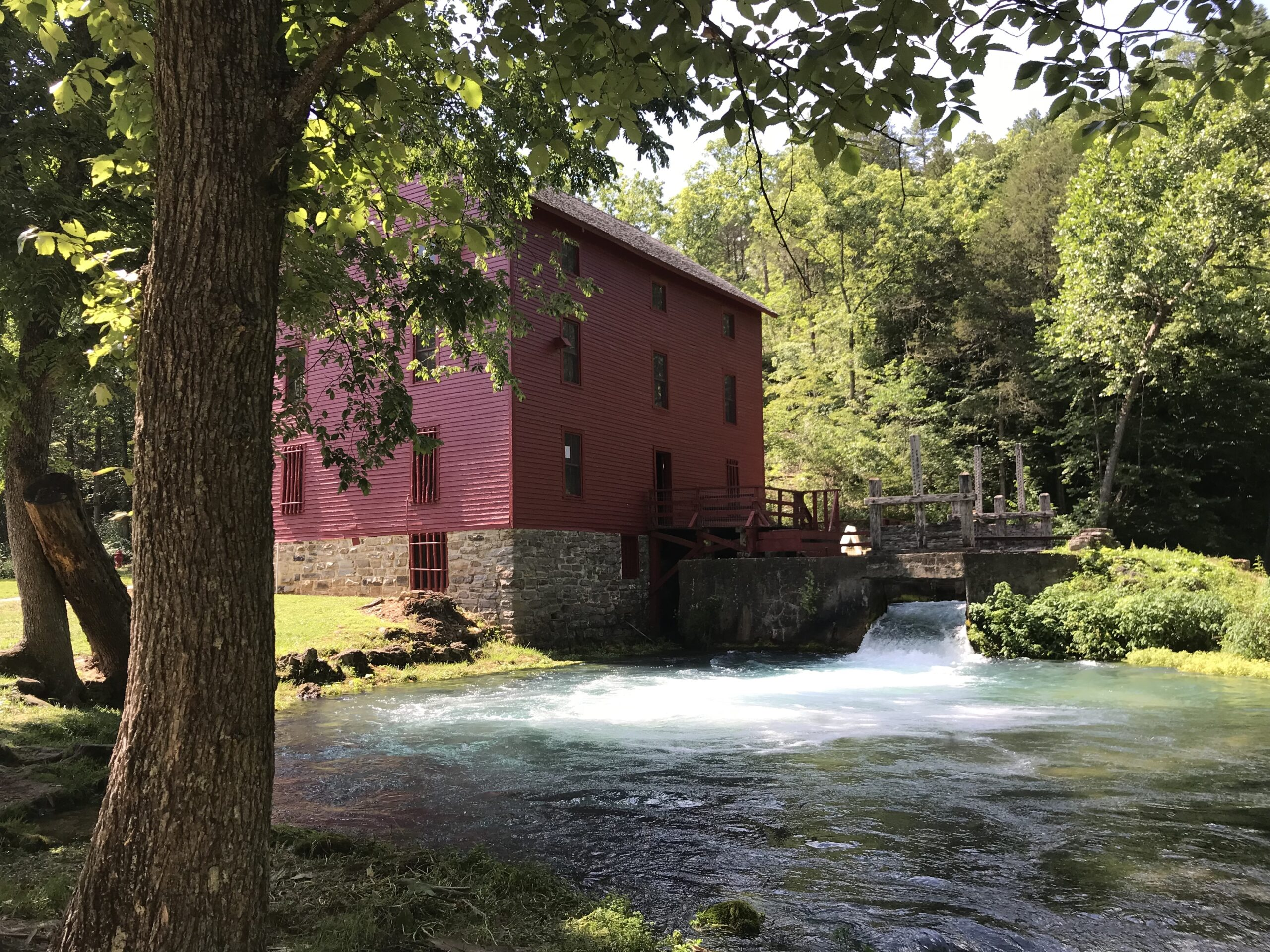 Alley Spring and Mill in Shannon County