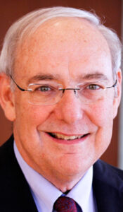 Mike Woff, former Missouri Supreme Court chief justice and Dean Emeritus of St. Louis University Law School.